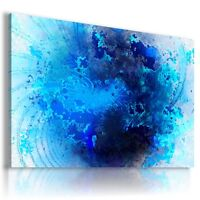 COSMOS BLUE PLANET CANVAS WALL ART PICTURE LARGE SIZES AB668 X MATAGA .