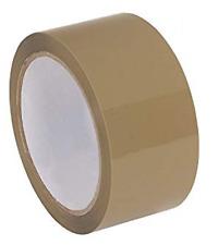 Tan Brown 2 X 110yds Packing Carton Sealing Tape 16mil Lightweight