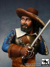 Blackdog Models 1/10 LANCER 17th CENTURY Resin Figure Bust