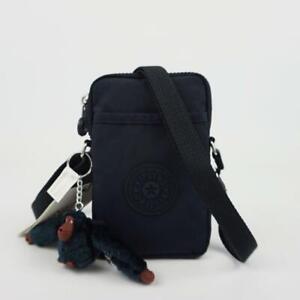 KIPLING TALLY Phone Travel Mini Crossbody Bag True Blue Tonal