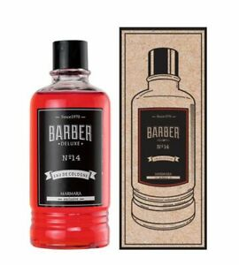 Marmara Barber Deluxe Cologne  I Red and Green I | Eau De Cologne | 400ml |