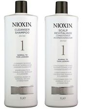 Nioxin System 1 Cleanser & Scalp Therapy Duo Set (shampoo & Condtiiner 33.8oz )