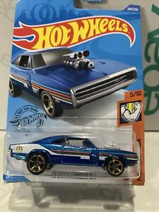 2020 Hot Wheels #249 - '70 Dodge Charger R/T - New Model - Unopened Muscle Mania