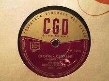 BRUNO QUIRINETTA -  Clopin Clopant / Maladie D'Amour   CGD 1236 - 78rpm   ITALY