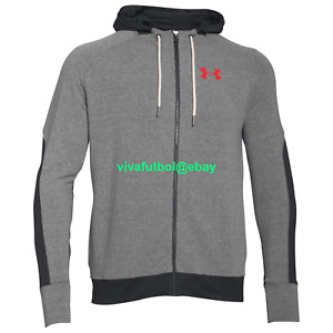 NEW Under Armour Mens UA x Muhammad Ali Collection Full-Zip Terry Hoodie LARGE L