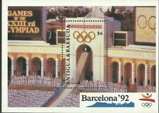 Antigua 1990 - Sports Summer Olympic Games Barcelona 92 Stadium - Sc 1333 MNH
