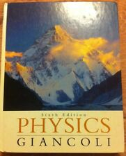 Physics : Principles with Applications by Giancoli 6th U.S. Ed (2005, Hardcover)