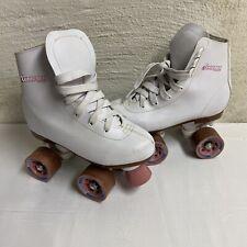 Chicago Quad Roller Skates Youth Size US 2 Classic Girls EUC