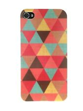 ►► Coque IPHONE 4 ou 5 // Motif Patchwork Triangle !! Case cover Art geometric