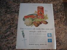 rare 1930 ad for Diamond Crystal Shaker Salt