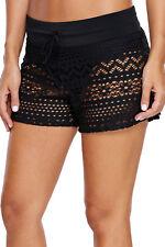 Women Swim Shorts Tankini Bottom Bikini Sport Yoga Board Beach Crochet Swimwear