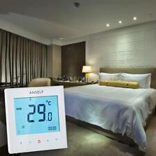 3A 110-230V Weekly Programmable Lcd Touch Screen Water Heating Controller 0Gkn
