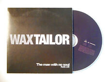 WAX TAILOR : THE MAN WITH NO SOUL ♦ CD SINGLE PORT GRATUIT ♦