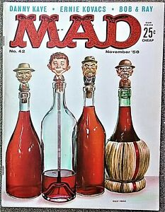 MAD Magazine #42 Nov 1958! FINE! 6.0 $.99 Start! SHARP! TIGHT! SUPER SOLID Copy!