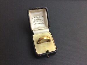 Buy 22ct Gold Vintage Wedding Ring Ebay