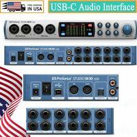 PreSonus Studio 1810 18x8, 192 kHz, USB 2.0 Audio Interface USB 2.0