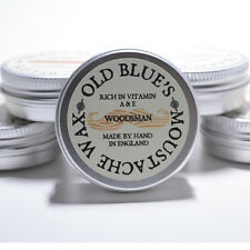 Old Blues Bigote Cera Woodsman 100% Natural Con Vitamina E 30 Ml Barba Aceite