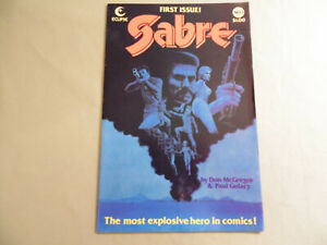 Sabre #1 (Eclipse 1982) Free Domestic Shipping