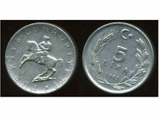 TURQUIE   5 lira 1983