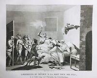 Loizerolles 1794 Révolution Française Robespierre Rare Gravure d'époque
