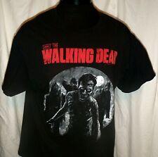 The Walking Dead Full Moon Shirt Size XL AMC Trademark Licensed Short Sleeve