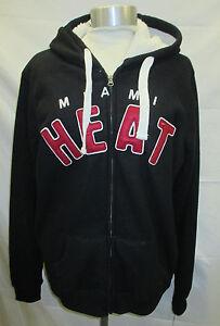 Miami Heat NBA Women's Hooded Mid-Weight Sweatshirt  Sherpa Lining