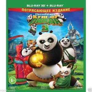 Kung Fu Panda 3 (Blu-ray 3D+2D) Eng,Russian,Latvian,Estonian,Lithuanian,Thai