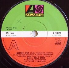 The J. Geils Band - Gettin' Out / Funky Judge - 1975 ATLANTIC (EX)