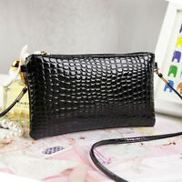 New women Classic Women's Quilted PU Leather Chain Purse Shoulder Bag Wallet IC