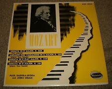 Mozart 4 Hand Sonatas Paul Badura-Skoda Joerg Demus~VG++ Vinyl~XWN 18044
