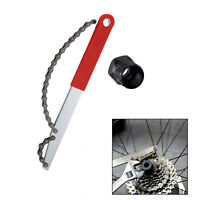uk Bicycle Bike Freewheel Chain Whip Cog Cassette Sprocket Remover Breaker Tool.