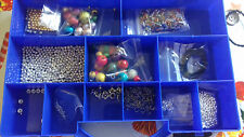 BOX OF BEADS AND MORE