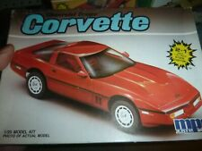MPC 6402 1986? CORVETTE COUPE 2n1 1/25 MODEL CAR MOUNTAIN kit Nib