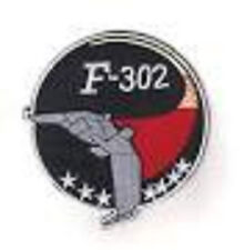 Stargate SG-1 Embroidered F-302 Fighter Logo Patch