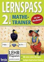 LERNSPASS - Mathe-Trainer 2. Klasse (PC+MAC) von Terzio | Software | Zustand gut