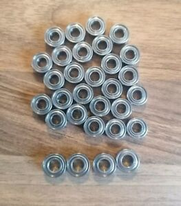30pc Metal Bearing Set For Tamiya 1/14 Trucks King Hauler 56301