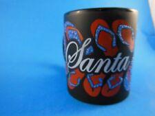 Rare Santa Cruz Ca  Souvenir Coffee Mug Flip Flops Raised Dimensional  Mint