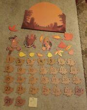 Teacher Thanksgiving Bulletin Board Calendar Display