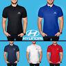 Hyundai Polo Shirt COTON BRODE Logo Auto Voiture Homme T Shirt Tee Cadeau Été