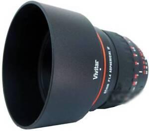 Vivitar 85mm Portrait Lens For sony Alpha Aspherical