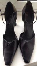 Marks and Spencer Black Leather Women Heels.New, Size 8UK/42EU