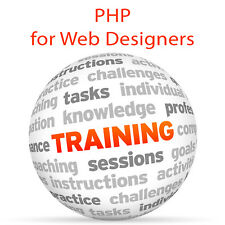 PHP for Web Designers - Video Training Tutorial DVD