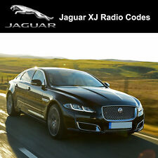 Jaguar Radio Code XJ Security Unlock Codes Sat Nav Decode - Fast Service