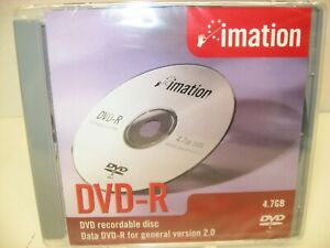 Imation DVD-R, 4.7GB, 2002, Blank Media, NEW/SEALED