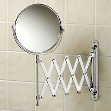 Magnifying Wall Mounted Extending Shaving Cosmetic Make Up Swivel Mirror