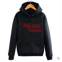 TV The Vampire Diaries Hoodie Unisex Hooded Sweater Outwear Pullovers Jacket