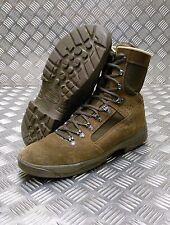 Genuine British Army Issue Meindl Liability Hi Leg Combat Desert Boots Brown