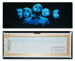***Oasis - Glow - Panoramic - Liam Noel Gallagher Limited Edition Canvas ***