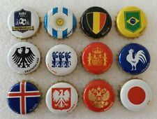 Germany Bottle Cap Gaffel Kölsch Beer Complete Used Set 2018 Fifa World Cup