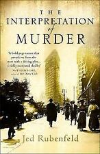 The Interpretation of Murder by Jed Rubenfeld (Hardback, 2006)